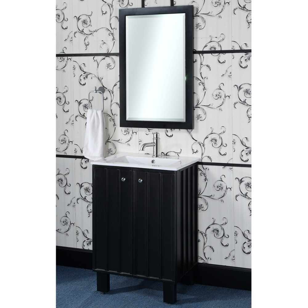 24 Inch Bathroom Vanity Black1000 X 1000