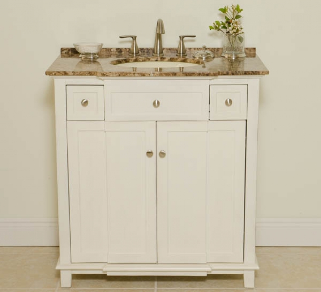34 Wide Bathroom Vanity Cabinet