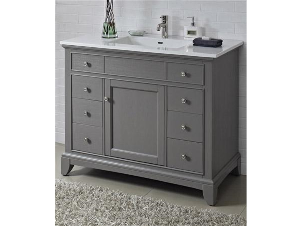 Permalink to 42 Inch Bathroom Vanity With Drawers