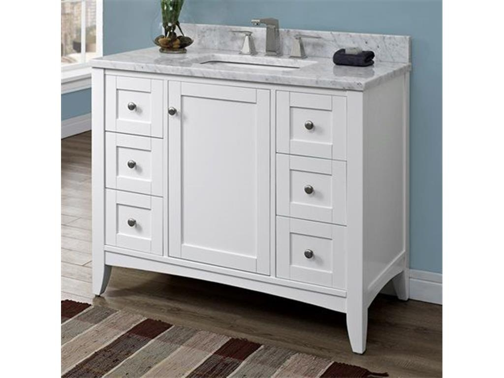 42 Inch Bathroom Vanity With Top