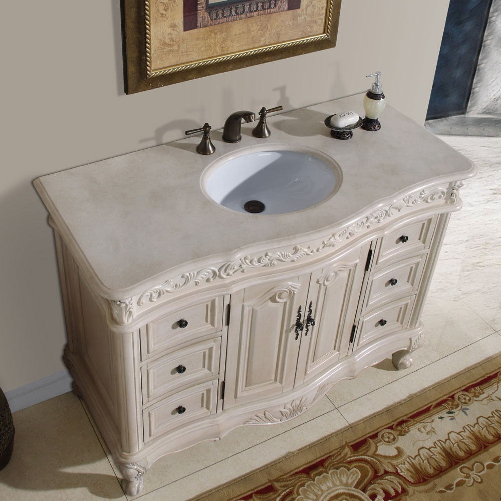 44 Bathroom Vanity Cabinets