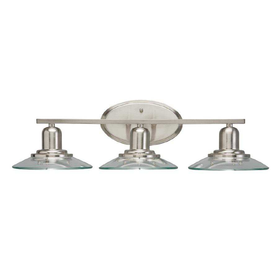Allen + Roth Brushed Nickel Bathroom Vanity Lightbrushed nickel bathroom vanity light home design