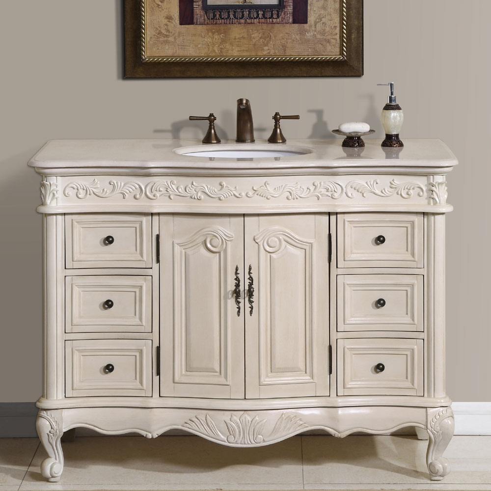 Permalink to Bath Vanity Cabinets 48