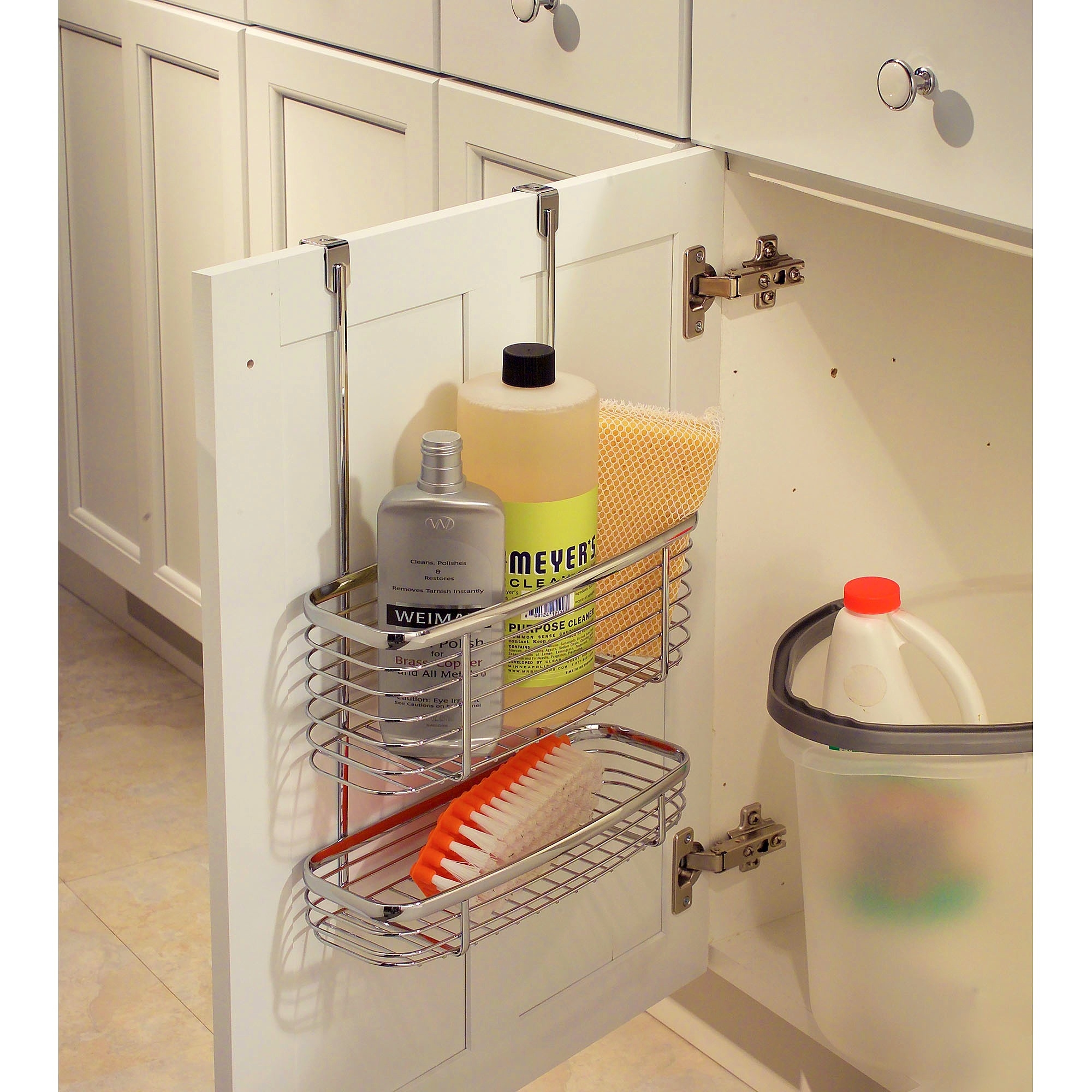 Bathroom Cabinet Door Caddy