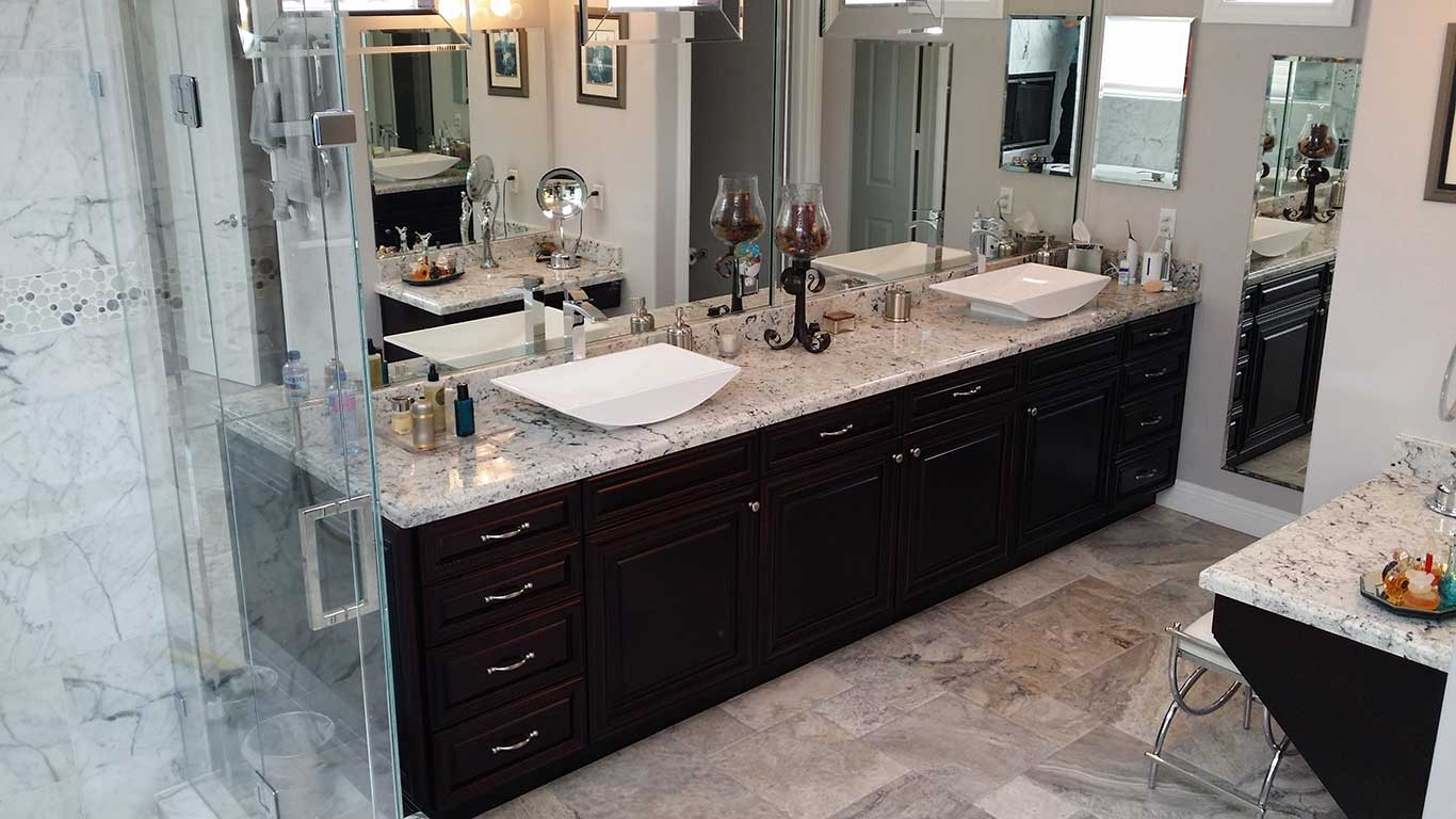 Bathroom Cabinet Refacing