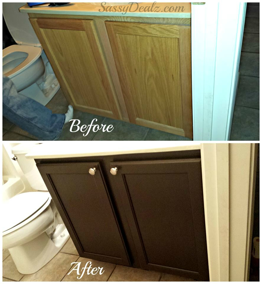 Permalink to Bathroom Cabinet Refinishing Kit