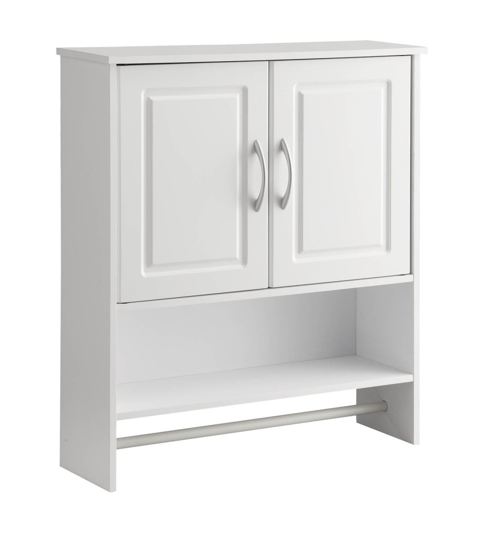 Permalink to Bathroom Cabinet With Towel Bar