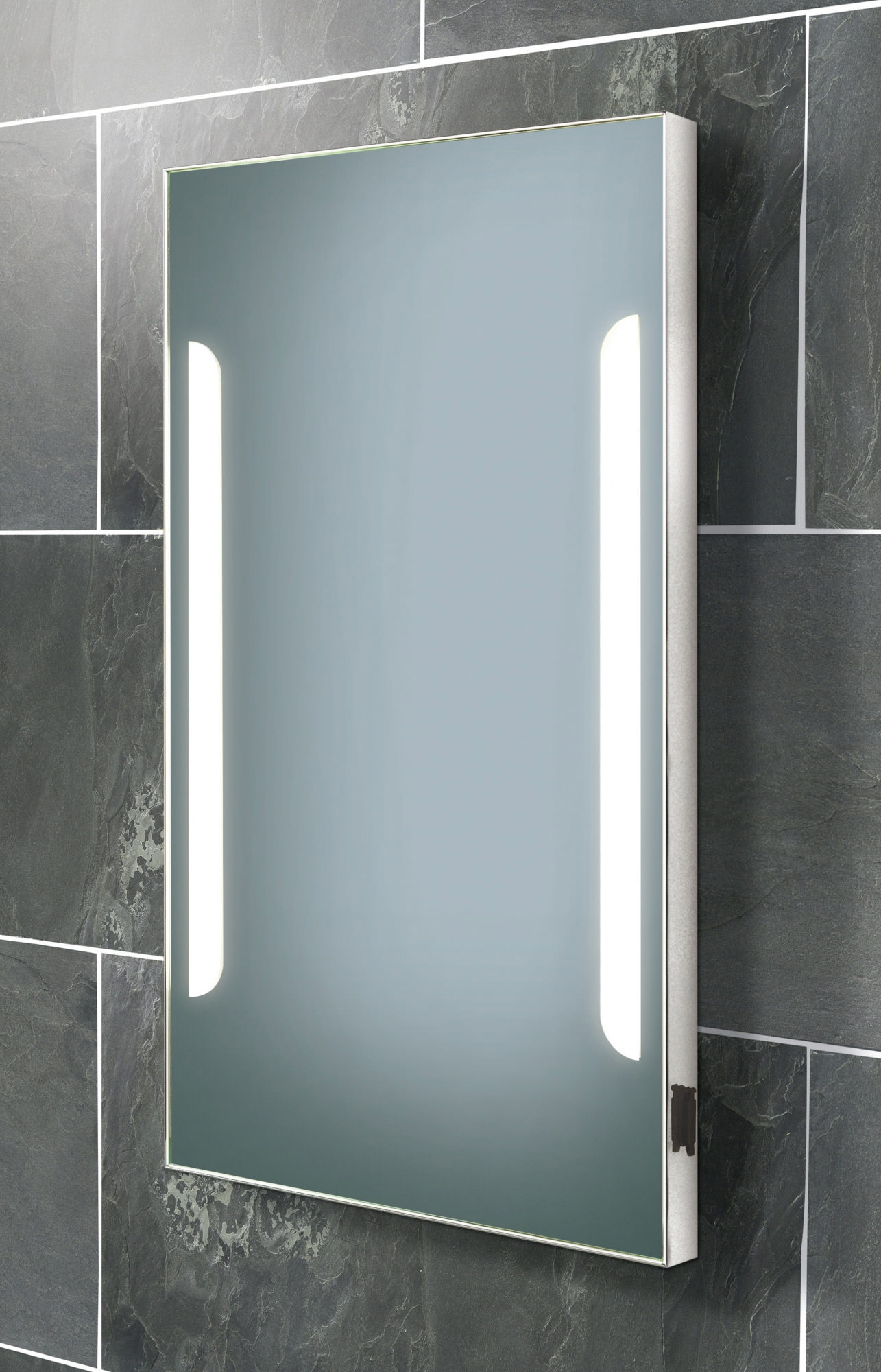 Bathroom Cabinets Mirror Illuminated Shaver Socket1285 X 2000