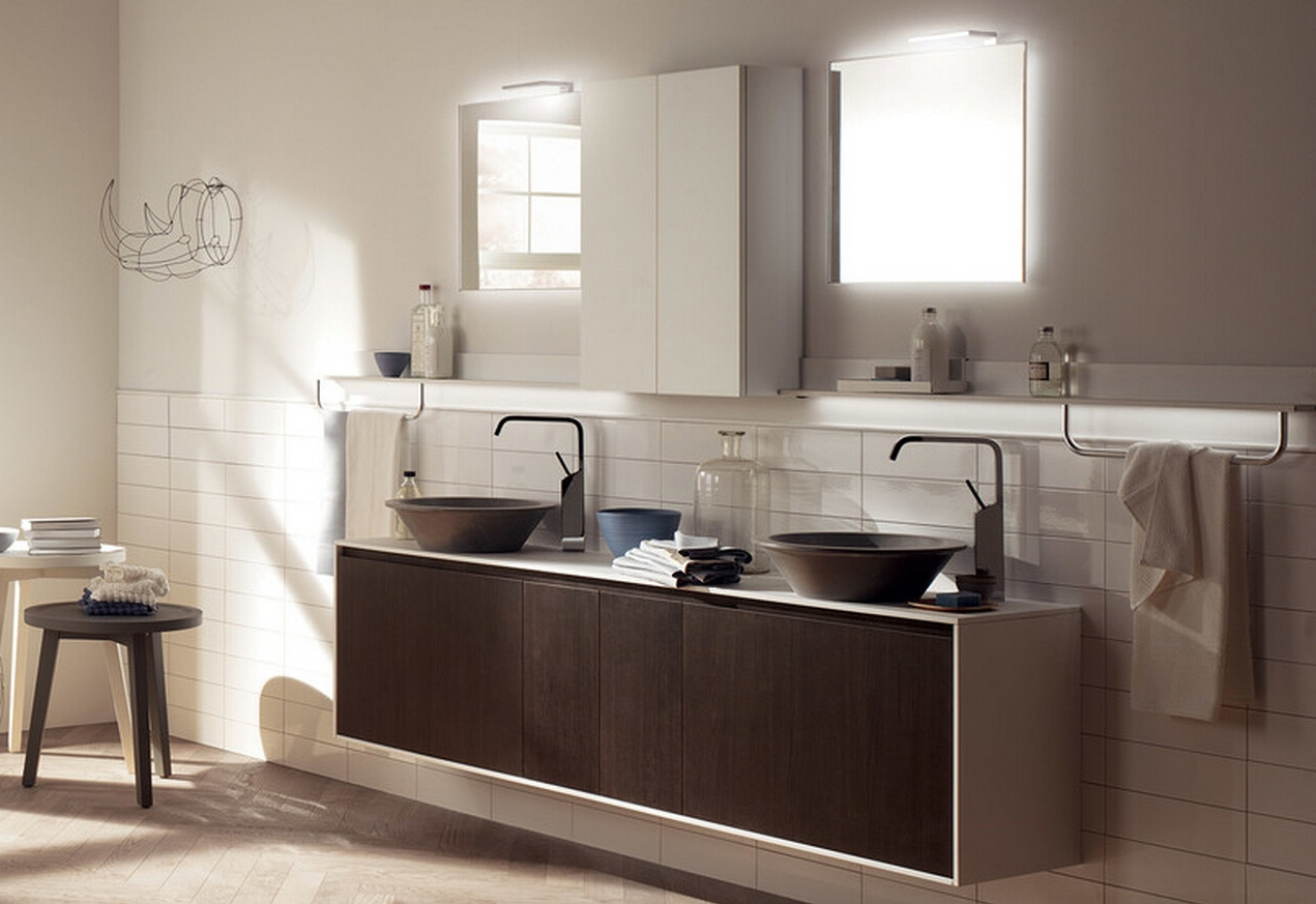 Bathroom Cabinets With 2 Sinks