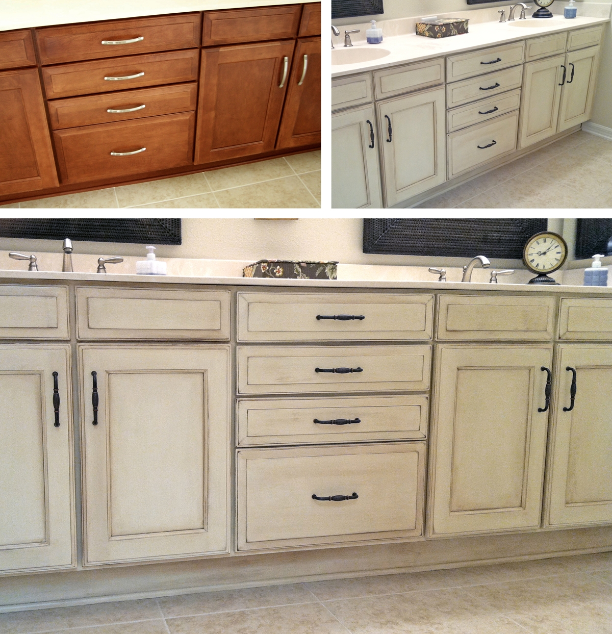 Bathroom Cabinets With Chalk Paint