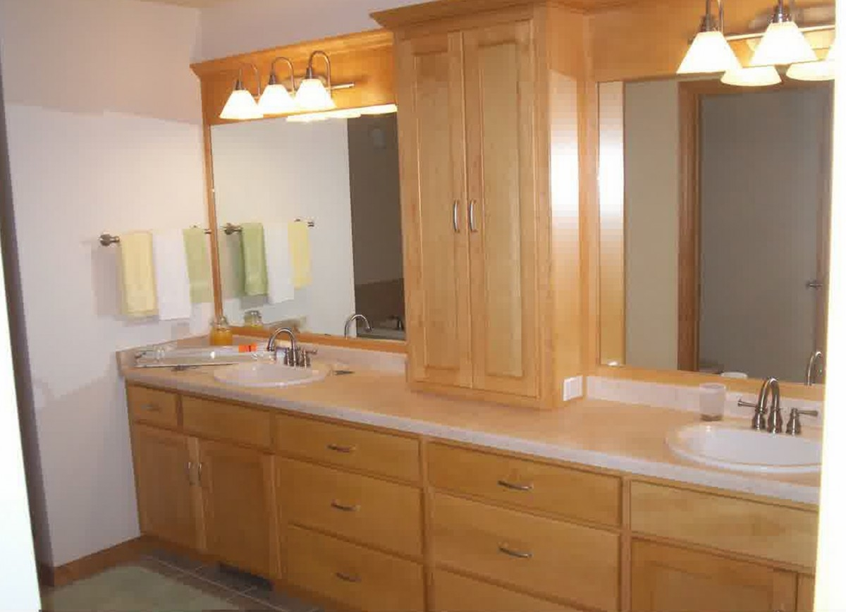 Bathroom Cabinets With Countertops
