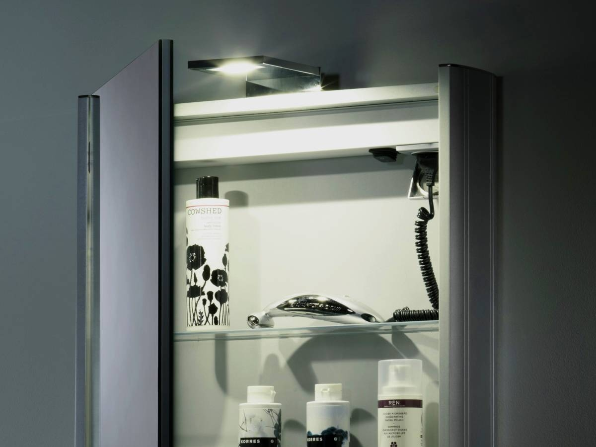 Bathroom Cabinets With Lights And Shaver Socket