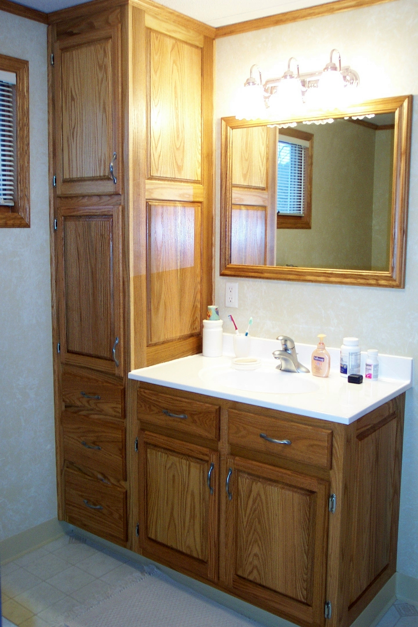 Permalink to Bathroom Cabinets With Storage