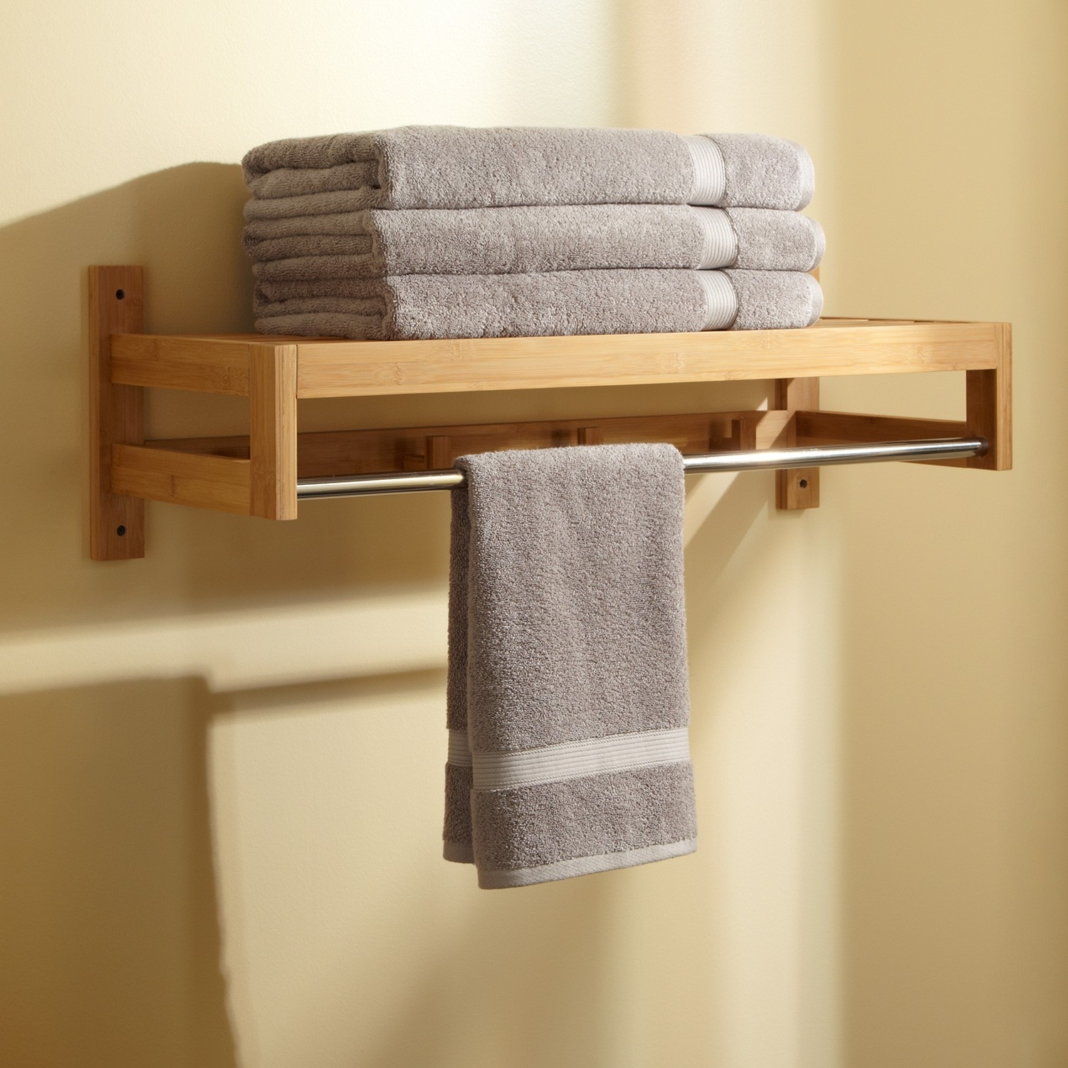 Bathroom Cabinets With Towel Hooks
