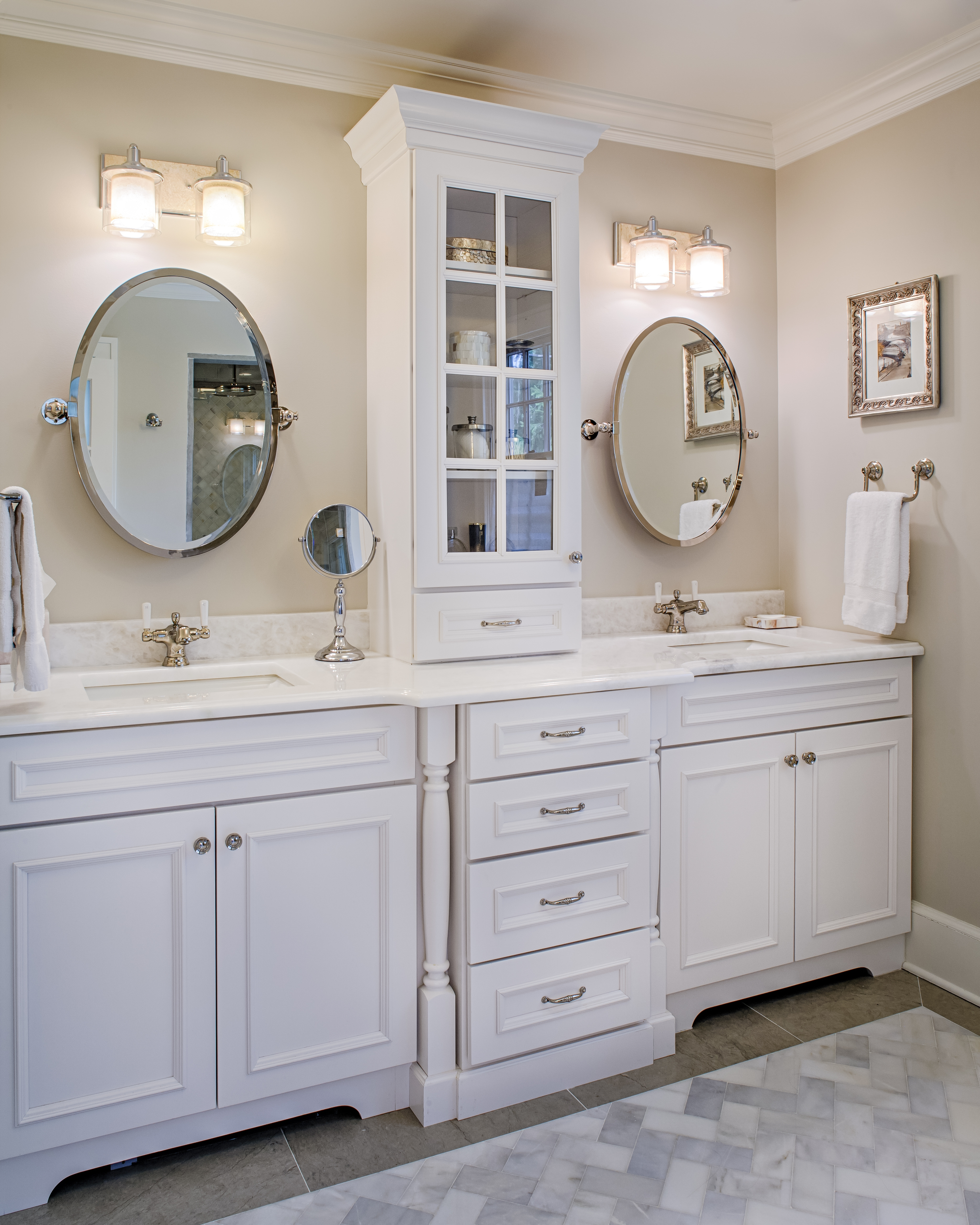 Bathroom Cabinets With Tower