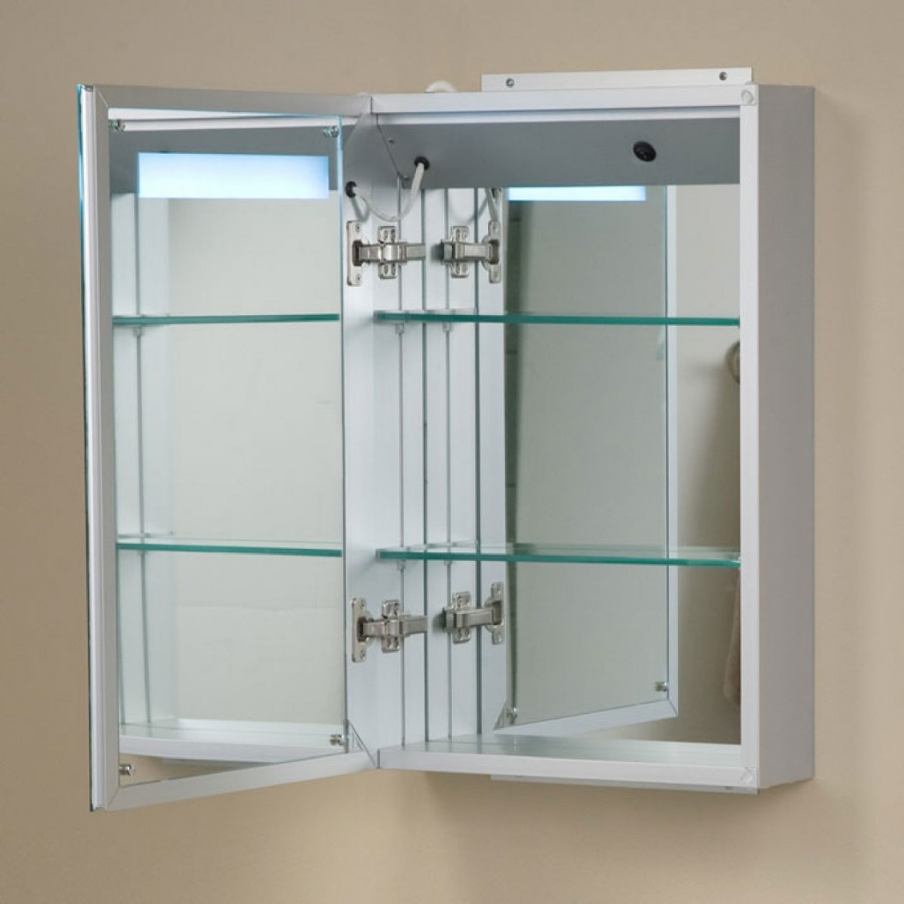 Bathroom Medicine Cabinets Glass Door