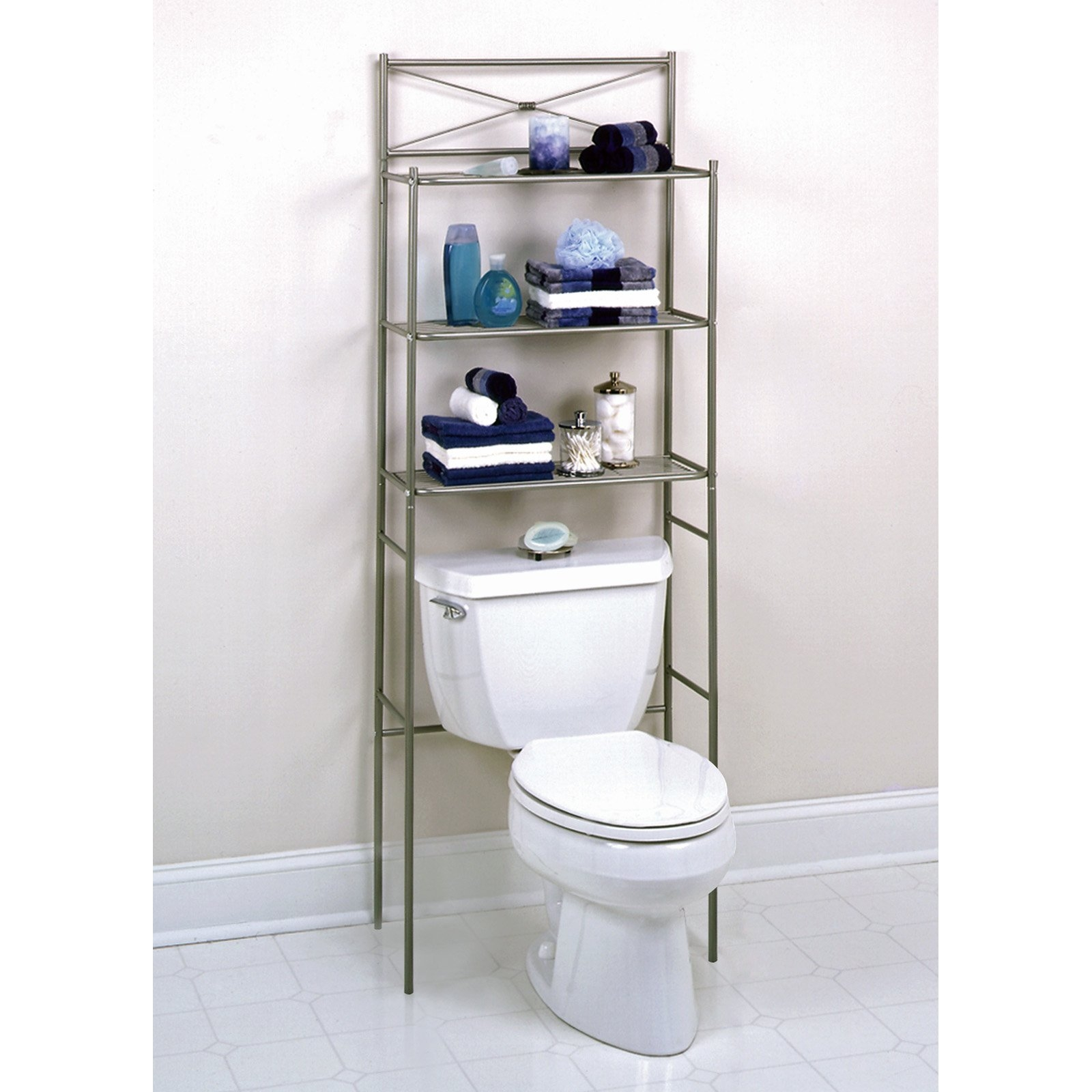 Bathroom Space Saver Cabinet With Wheels