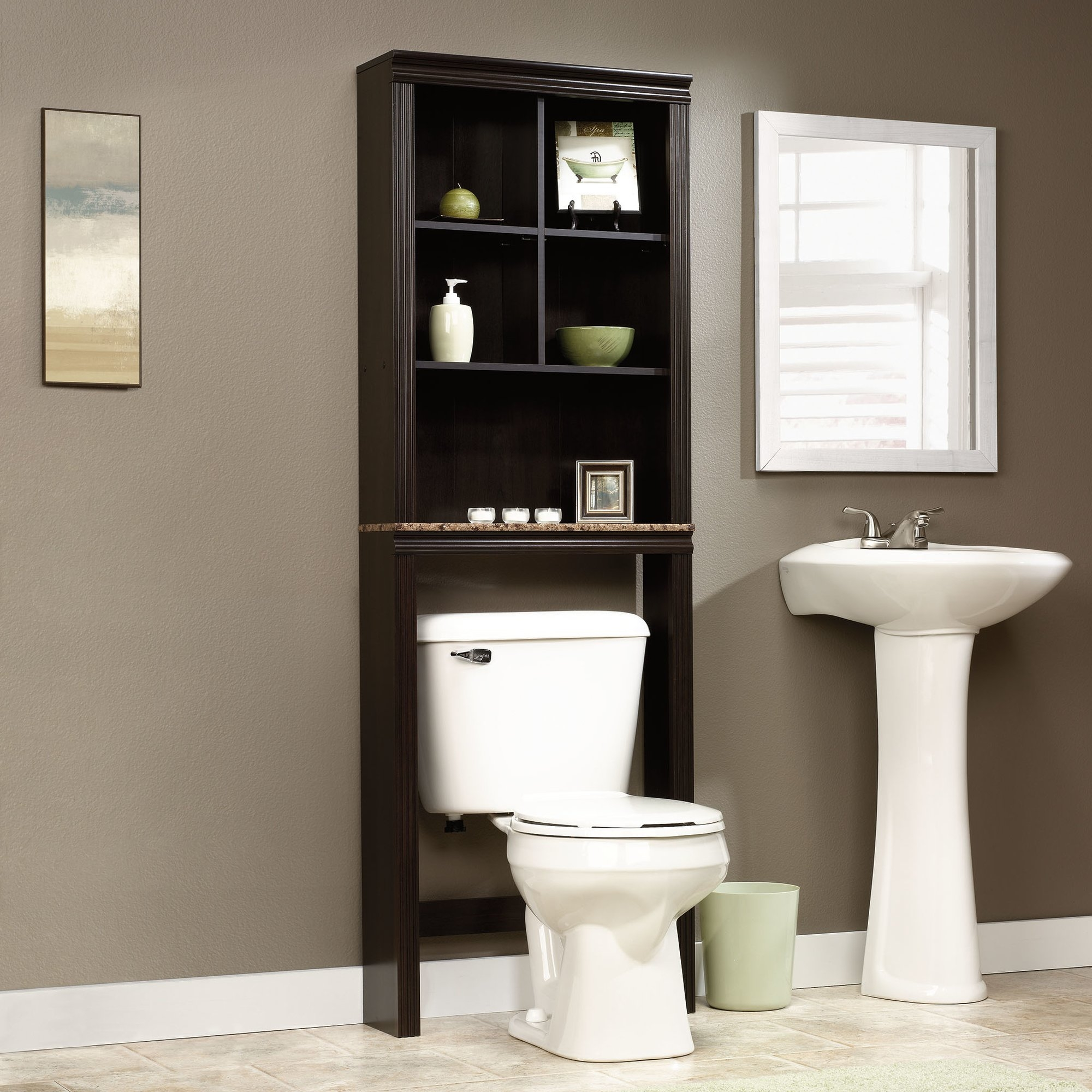 Permalink to Bathroom Storage For Over The Toilet
