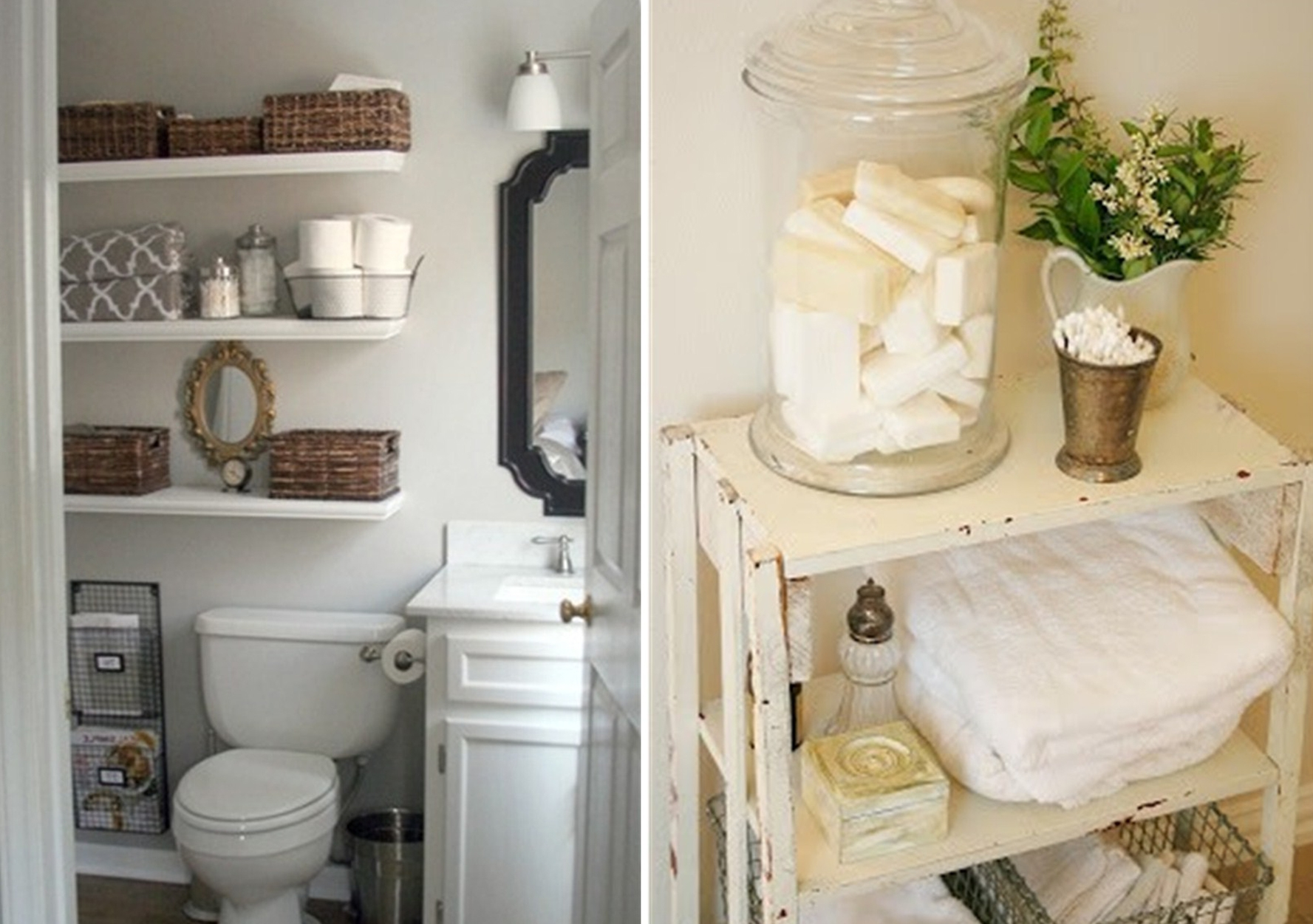 Bathroom Storage Ideas For Towels