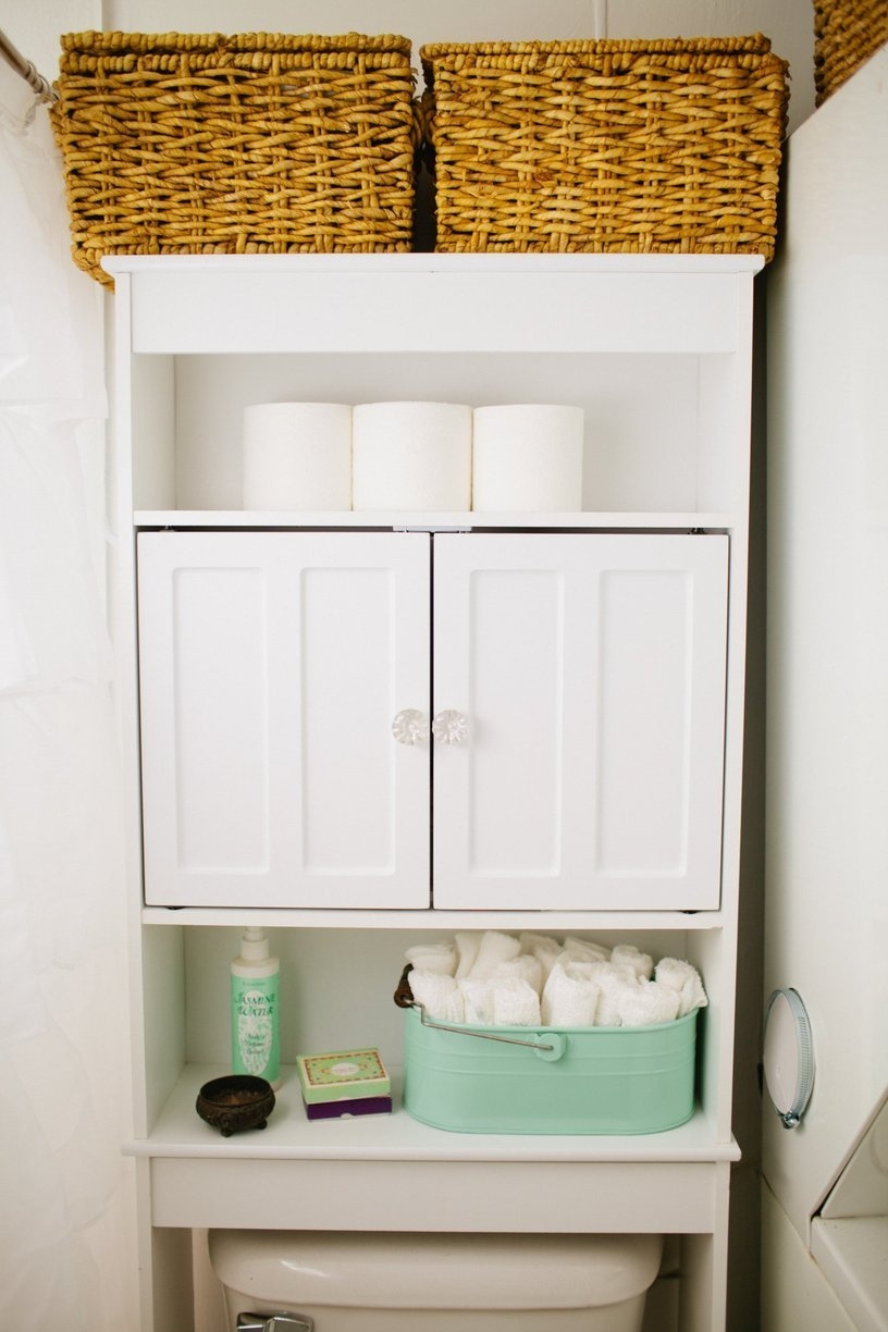 Bathroom Storage Over Toilet Ideas17 brilliant over the toilet storage ideas