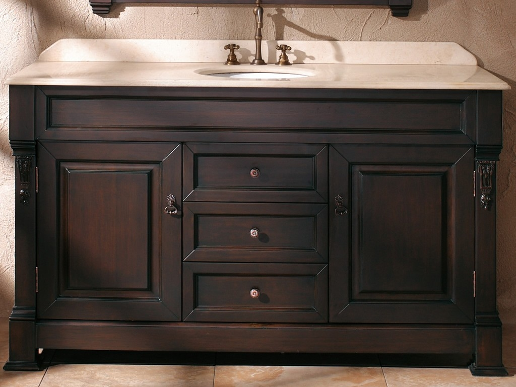 Bathroom Vanity Cabinets 60 Inches60 inch single sink bathroom vanity cabinets globorank