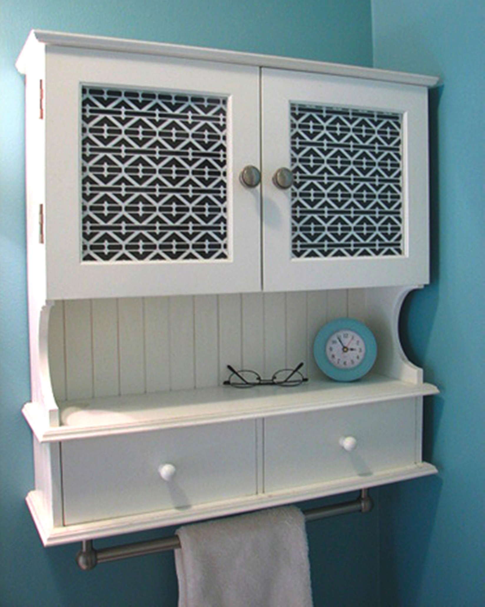 Bathroom Wall Cabinet Blue