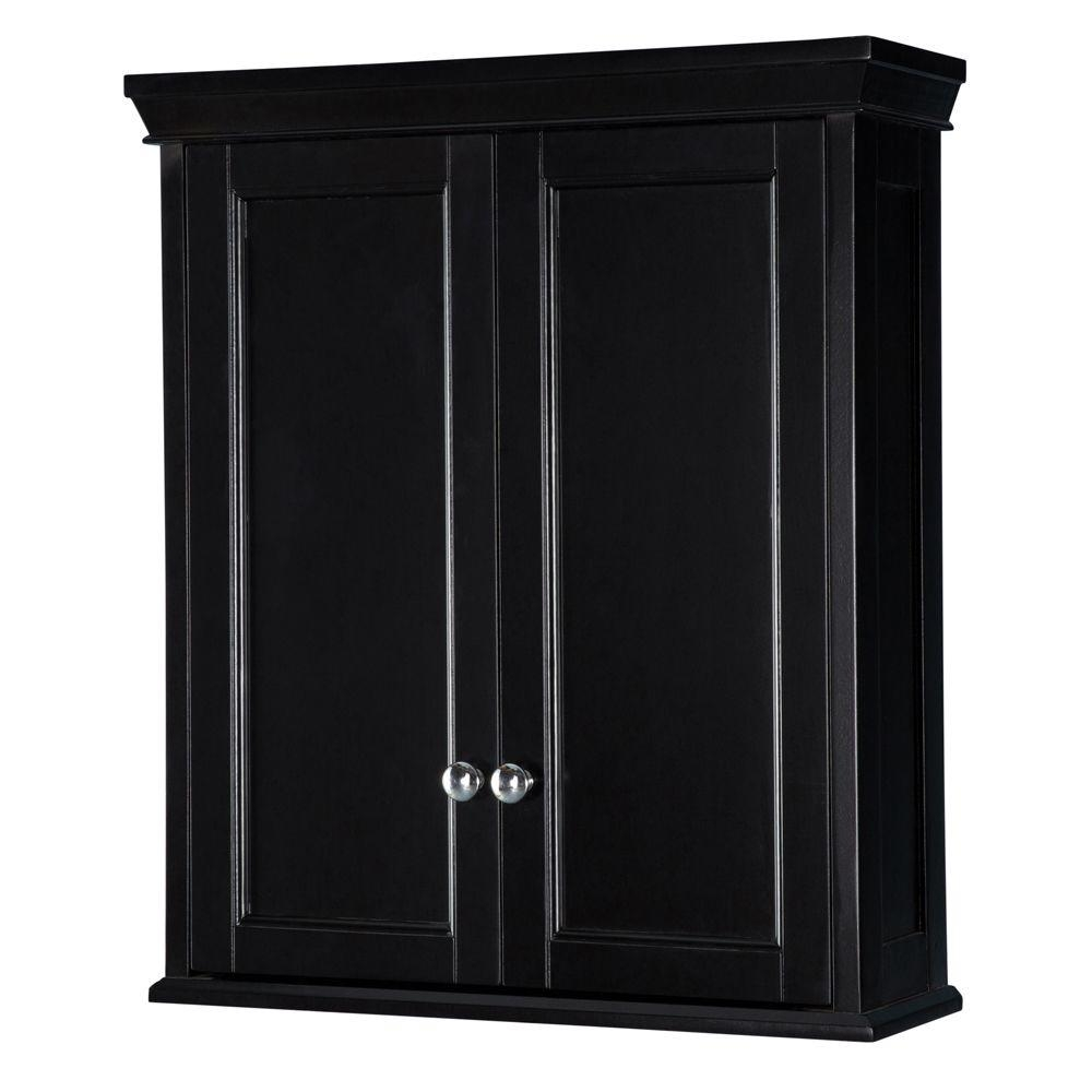 Permalink to Bathroom Wall Cabinets In Black
