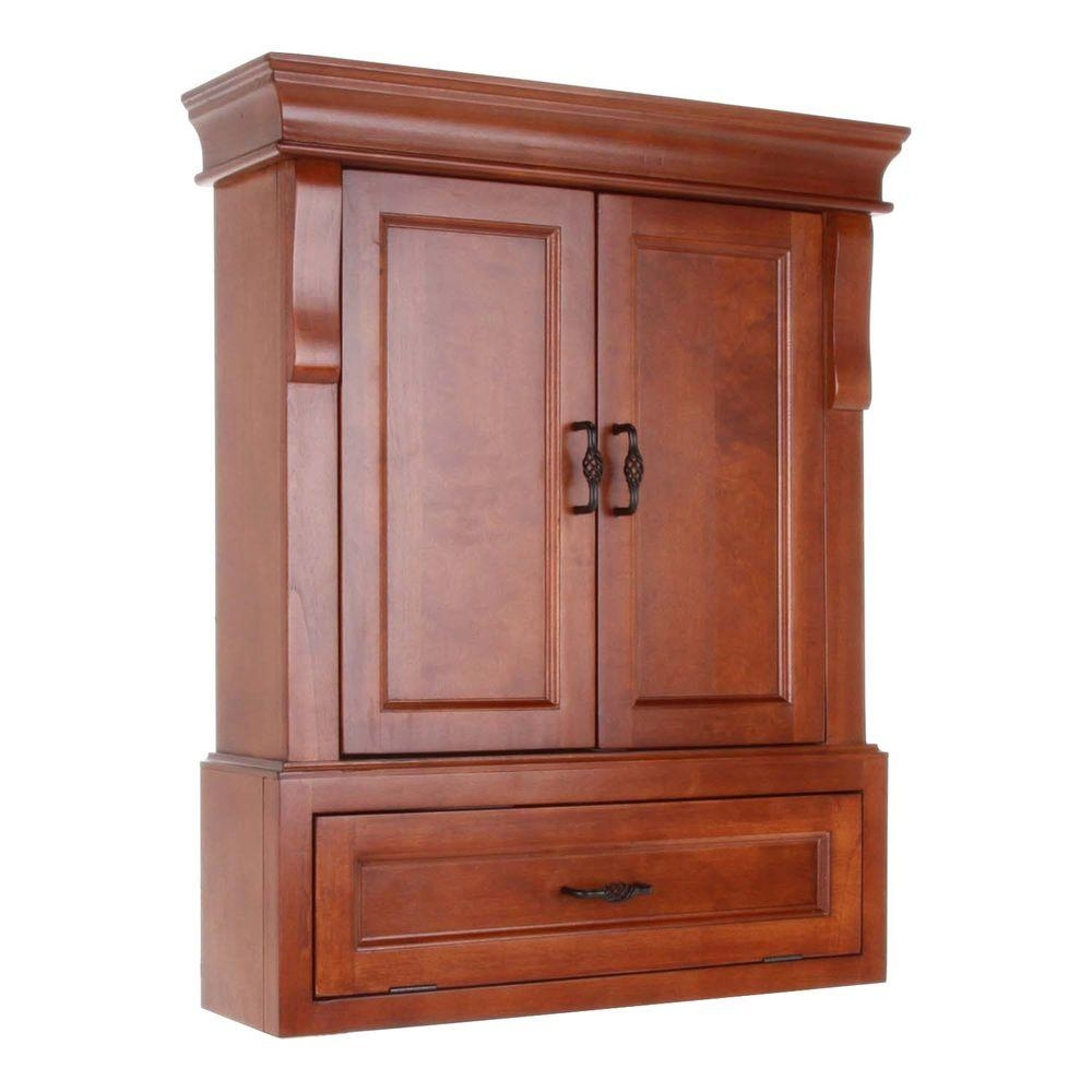 Bathroom Wall Cabinets In Cherry