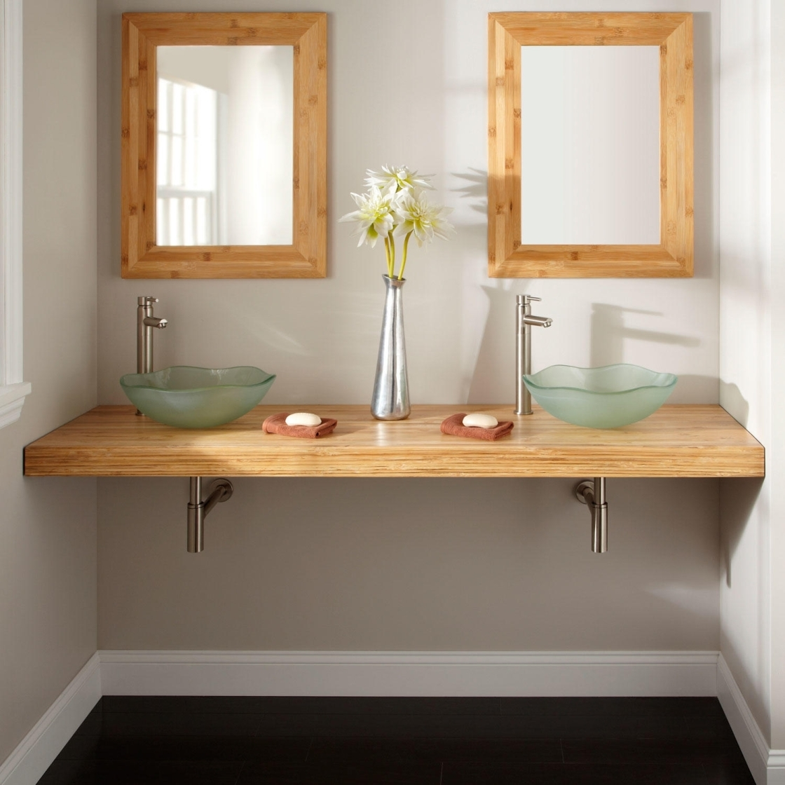 Build A Wall Hung Bathroom Vanity
