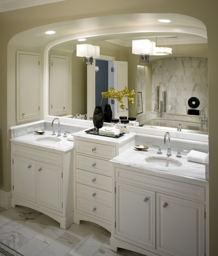 Built In Bathroom Vanities Ideas
