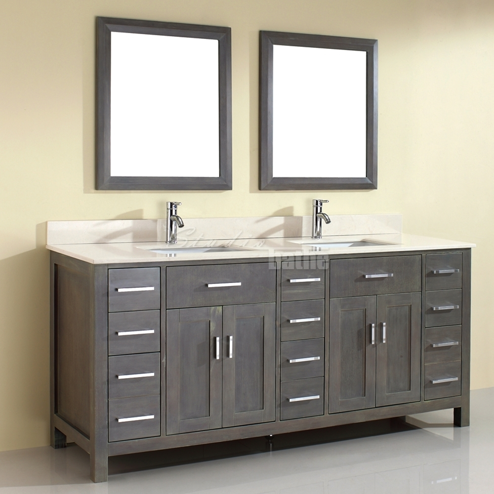 Distressed Bathroom Vanity Graydistressed bathroom vanity vanities makeup tables distressed