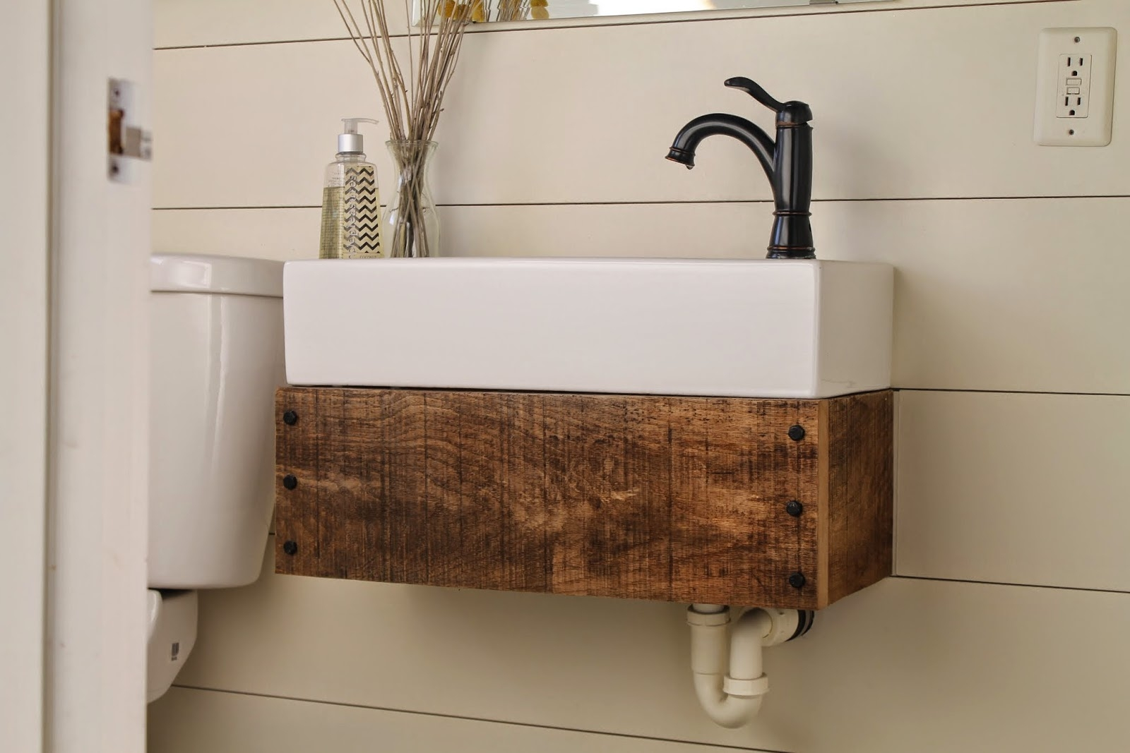 Floating Bathroom Vanity Diy