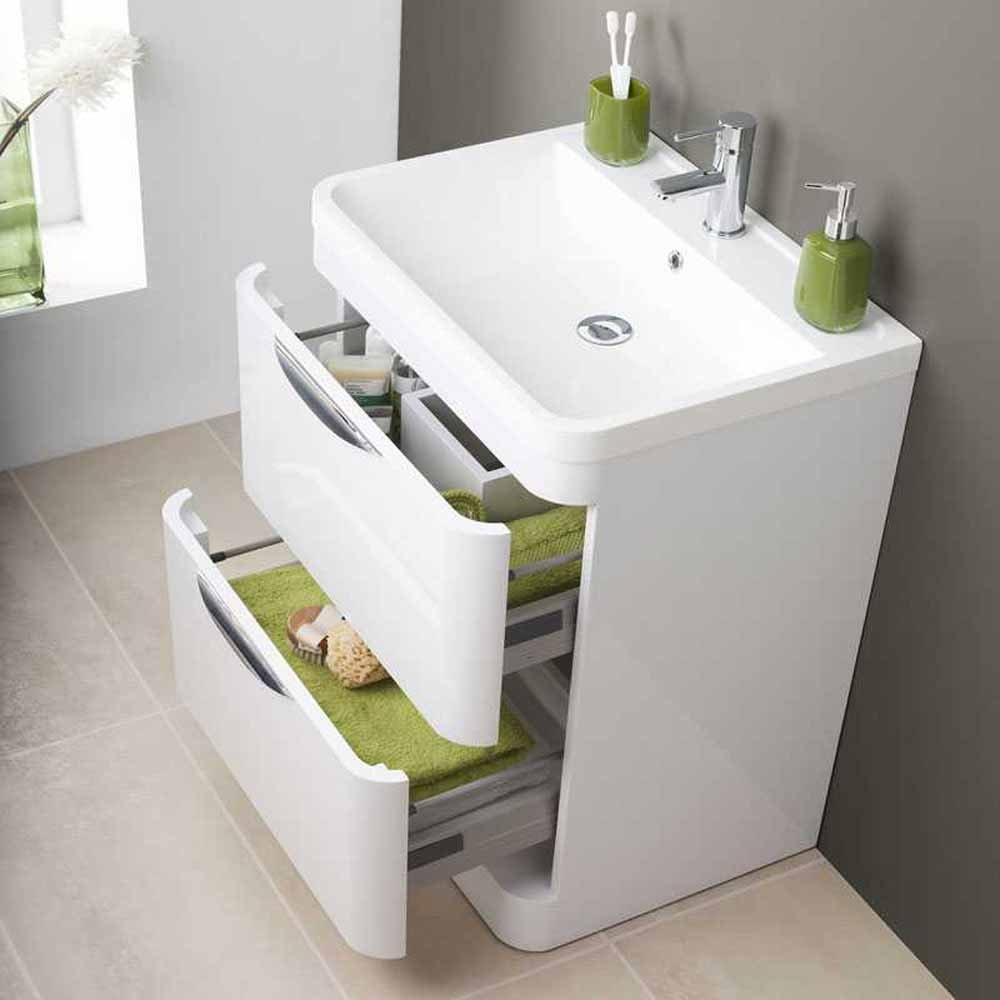 Floor Standing Bathroom Sink Cabinet