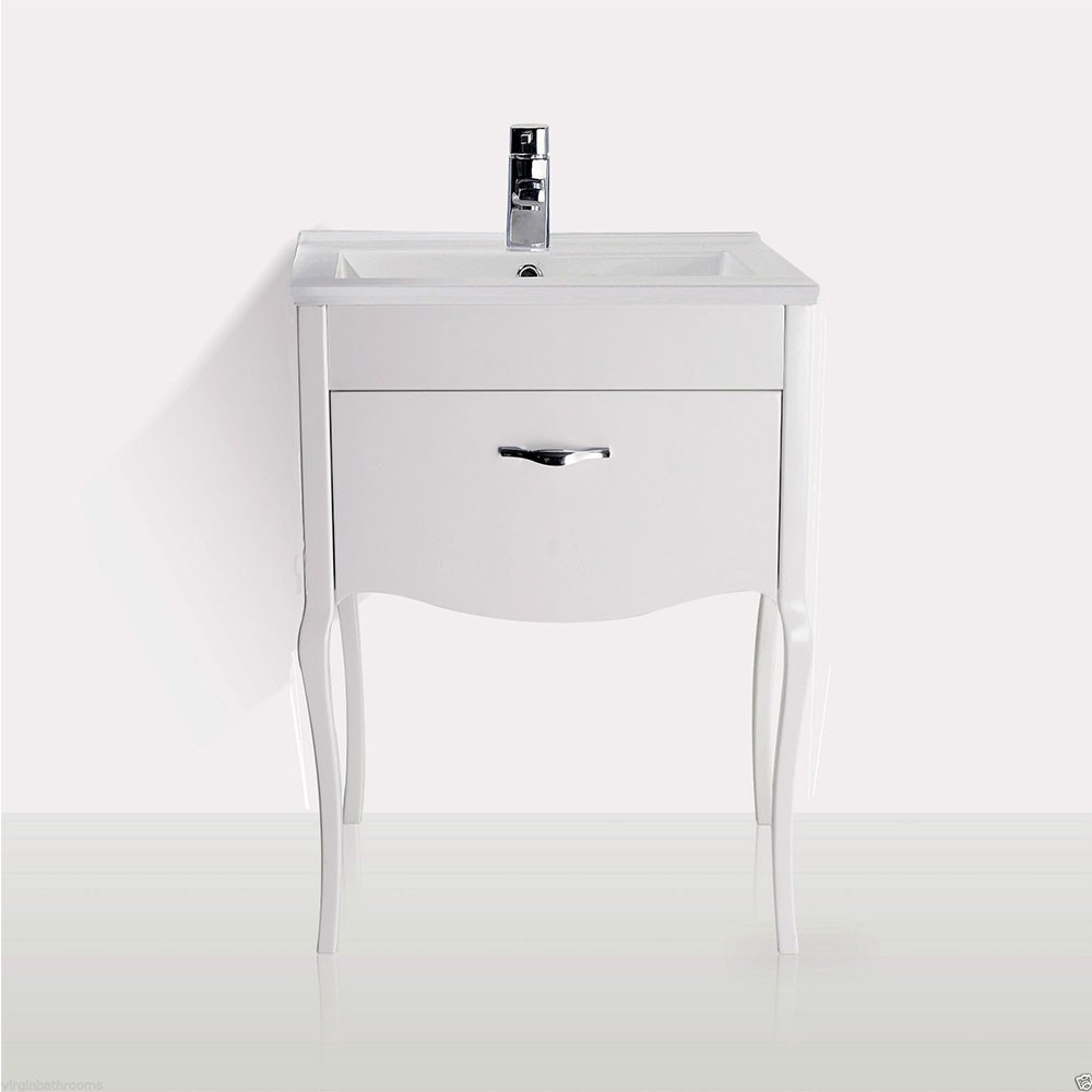 Permalink to Free Standing Bathroom Sink Vanity Units