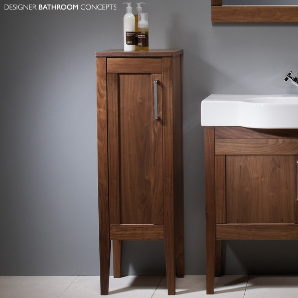 Free Standing Bathroom Wall Cabinets