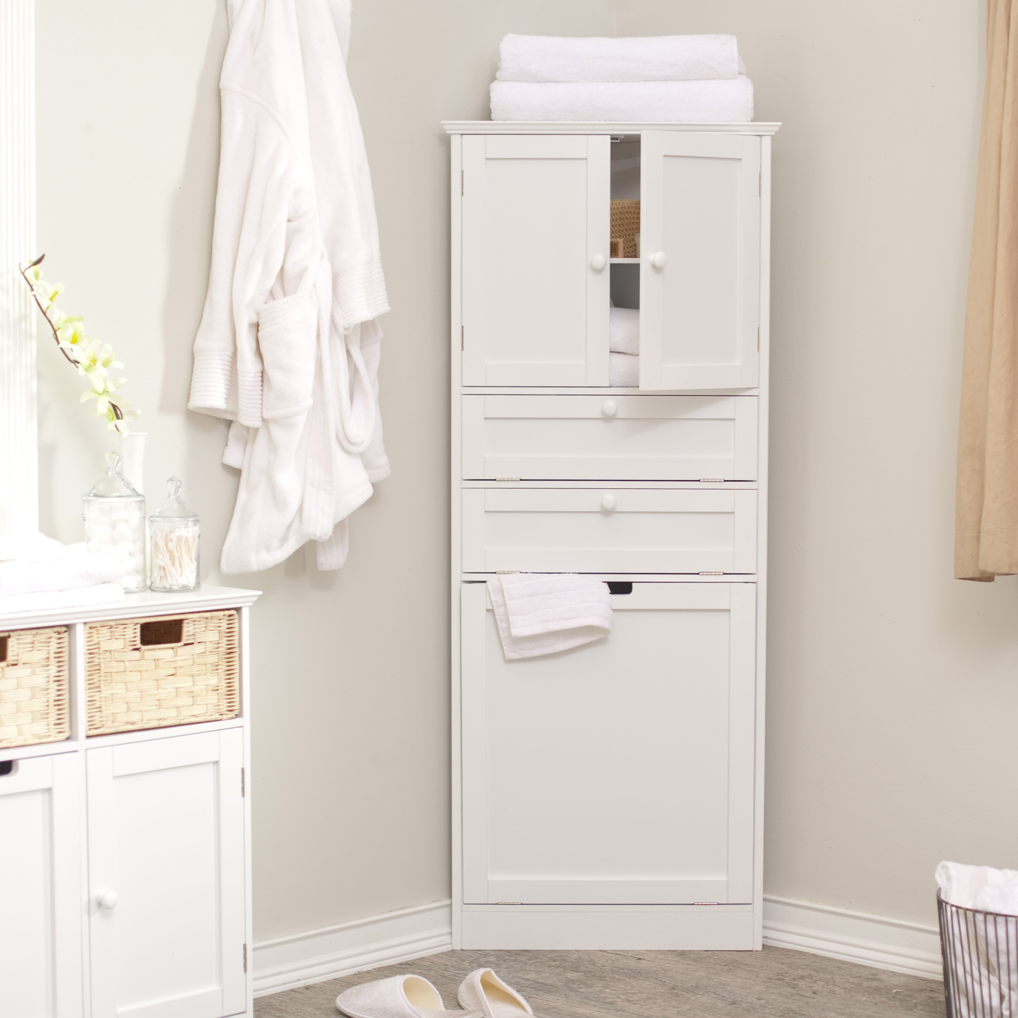 Free Standing Lockable Bathroom Cabinet
