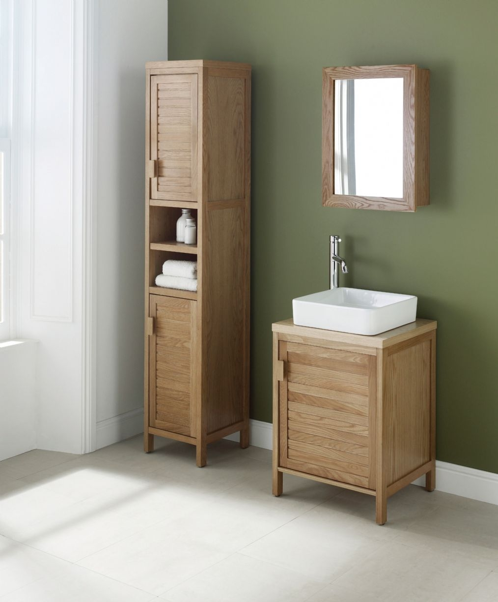 Permalink to Free Standing Wooden Bathroom Furniture