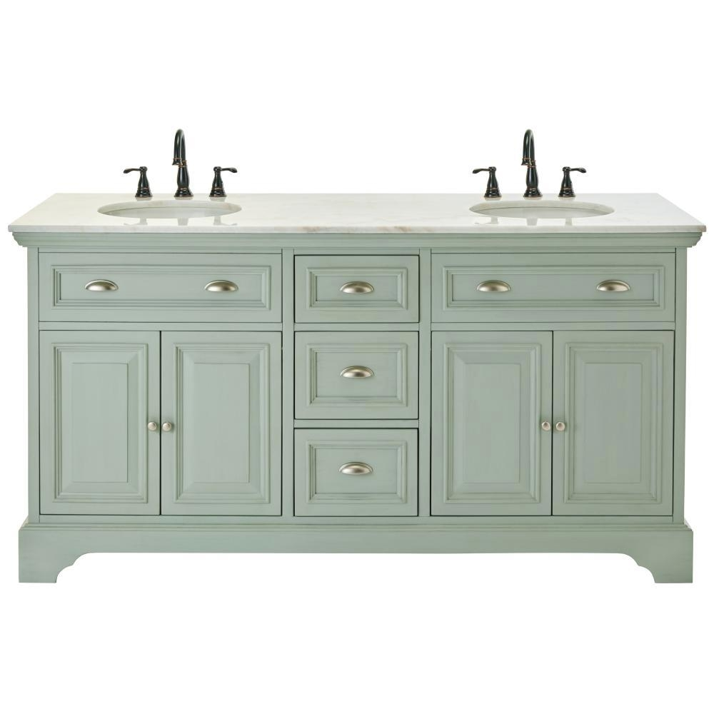 Home Depot Bathroom Vanities Double