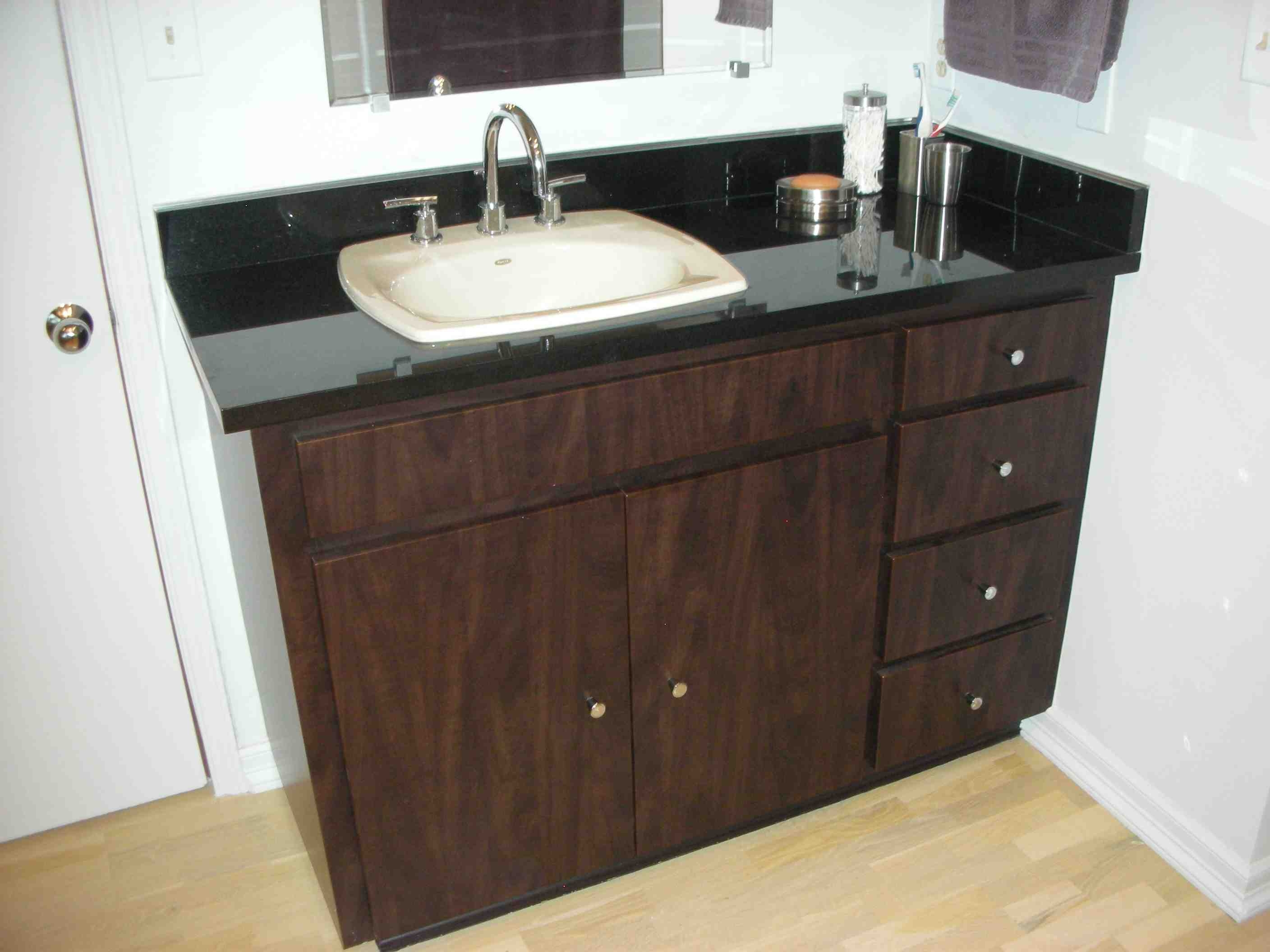 How Do You Reface Bathroom Cabinets
