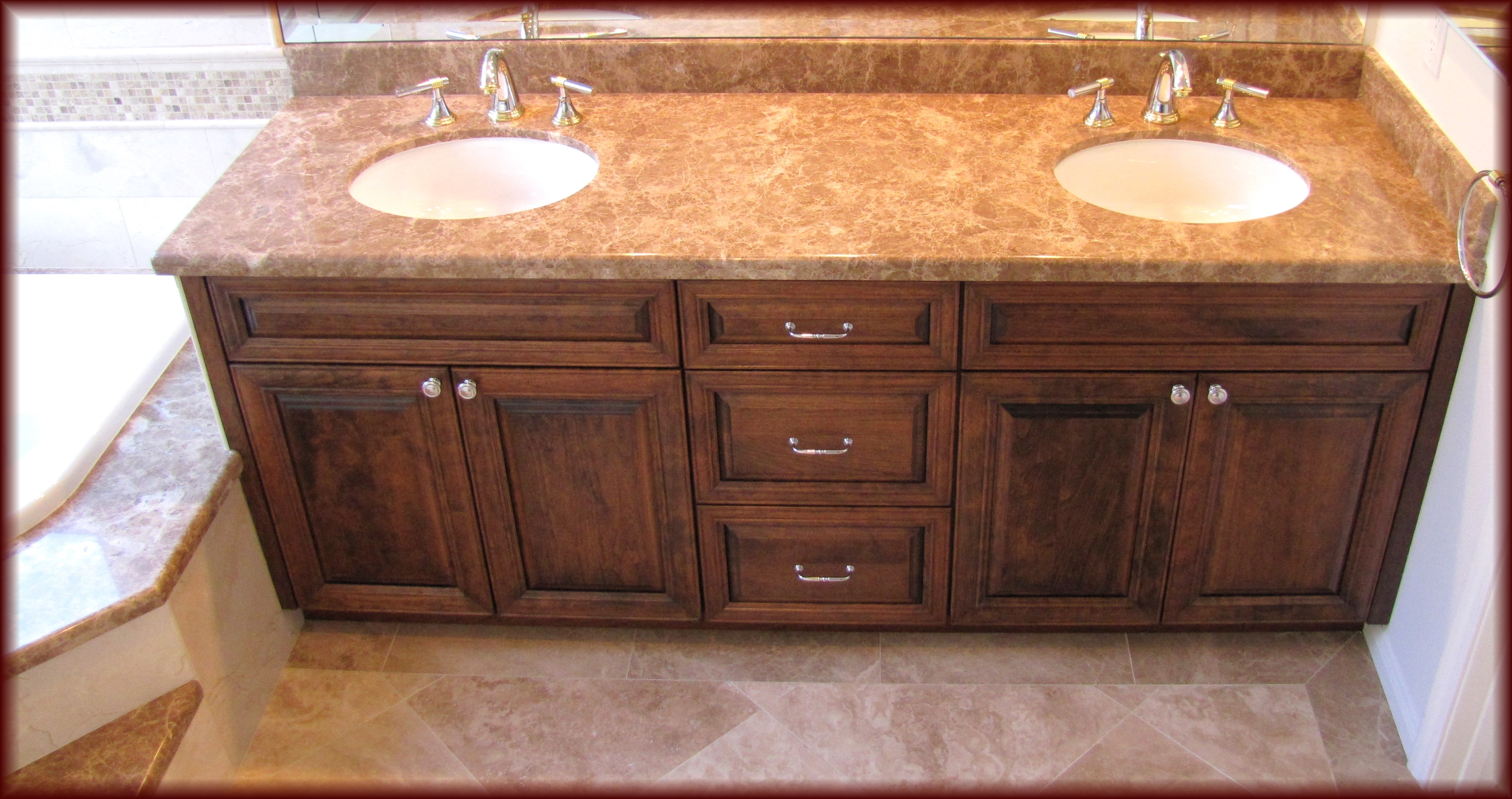 How Do You Restain Bathroom Cabinets