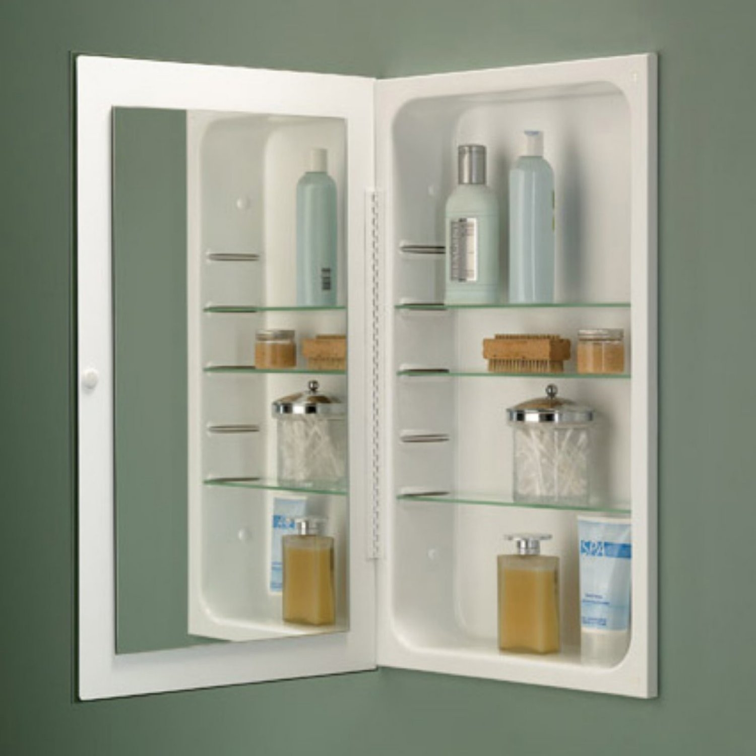 Inset Bathroom Wall Cabinet