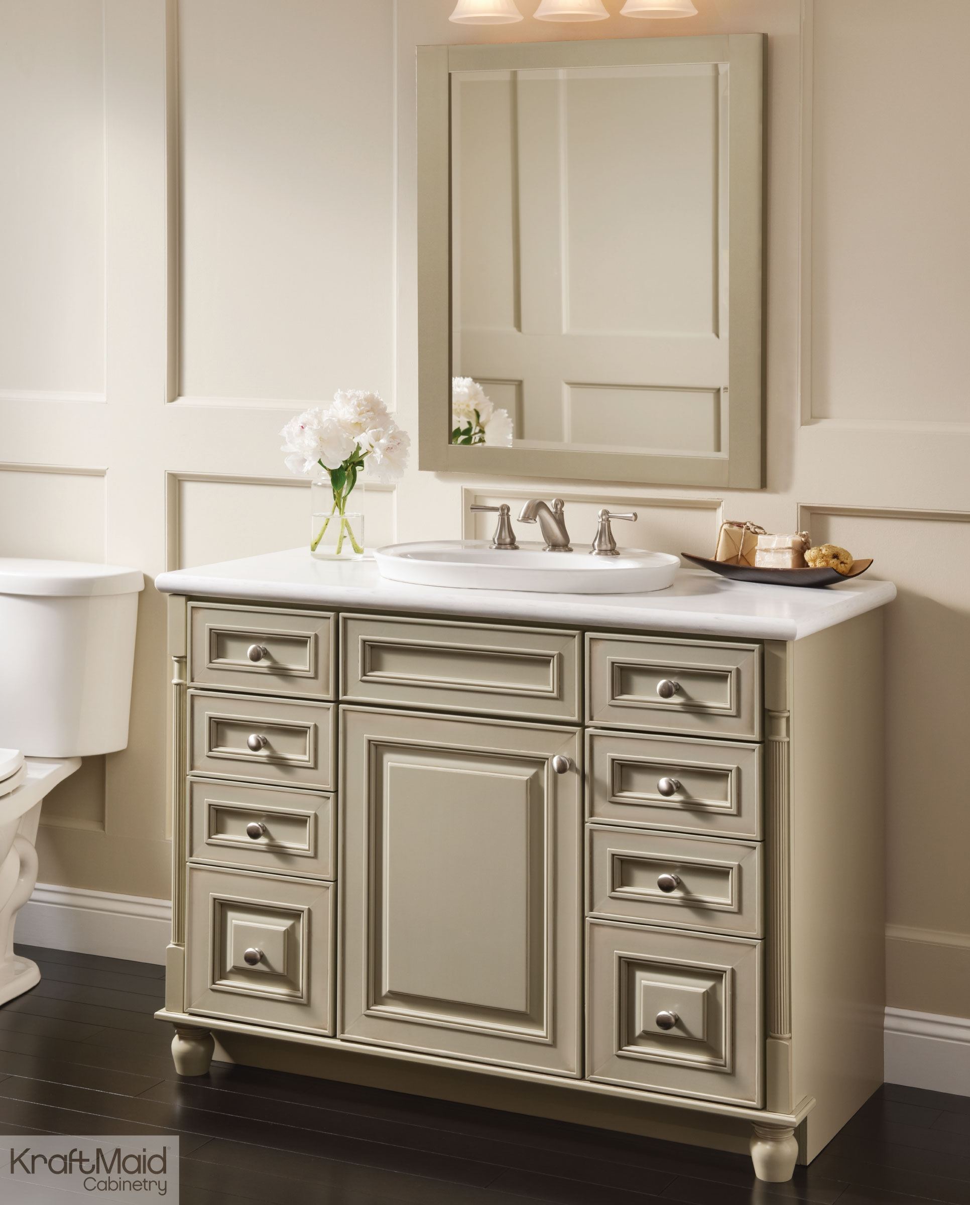 Kraftmaid Bathroom Wall Cabinets