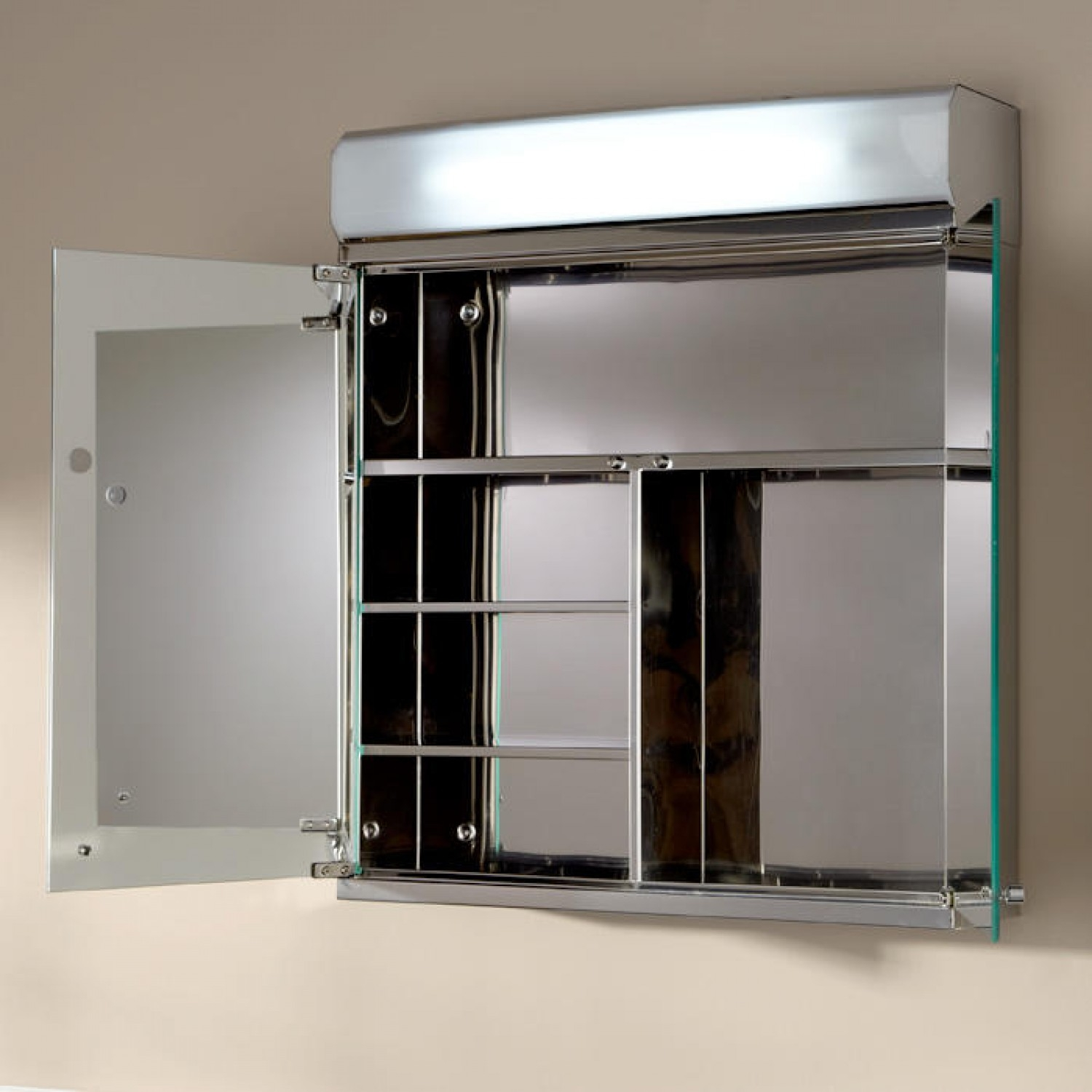 Lighted Bathroom Cabinets With Mirrors
