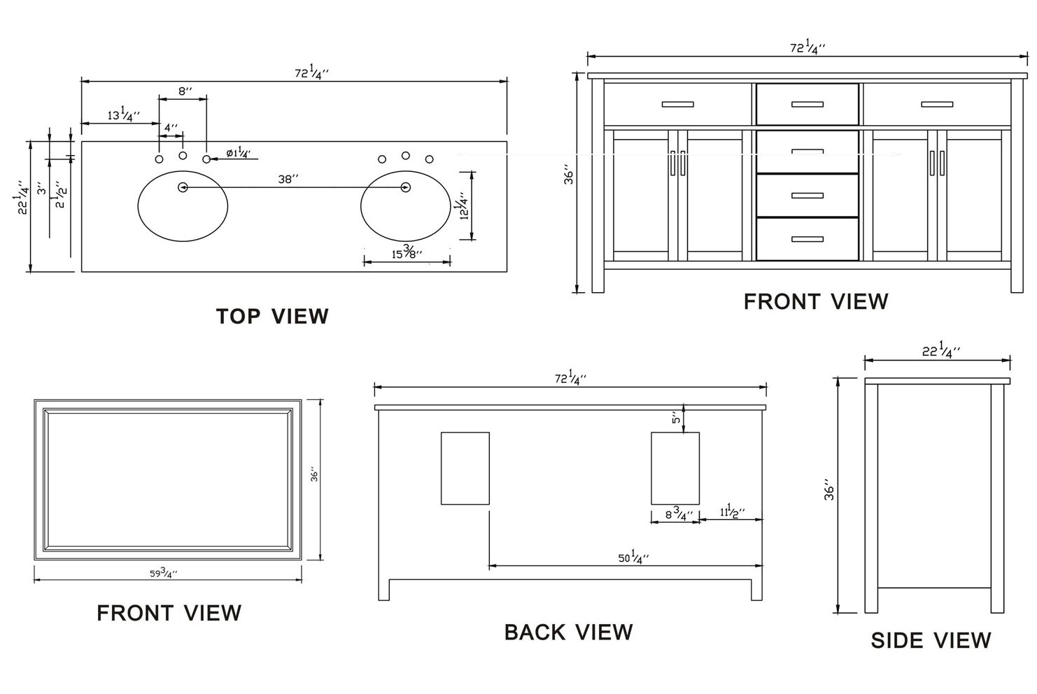 Master Bathroom Vanity Height