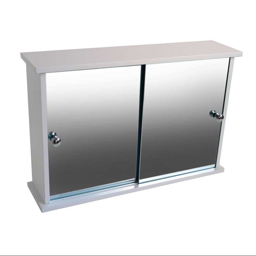 Permalink to Mirrored Bathroom Cabinets With Sliding Doors