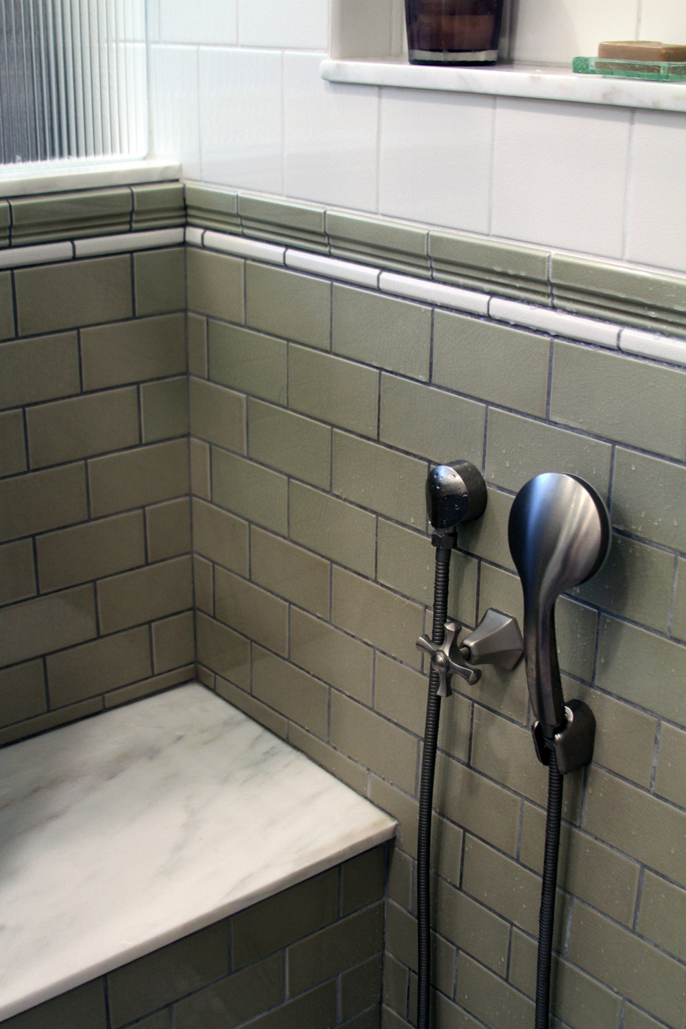 Mission Style Bathroom Remodel