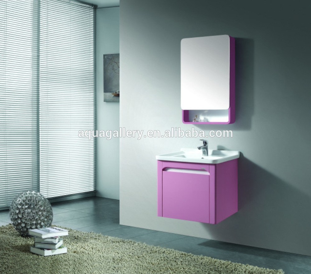 Pink Bathroom Cabinet