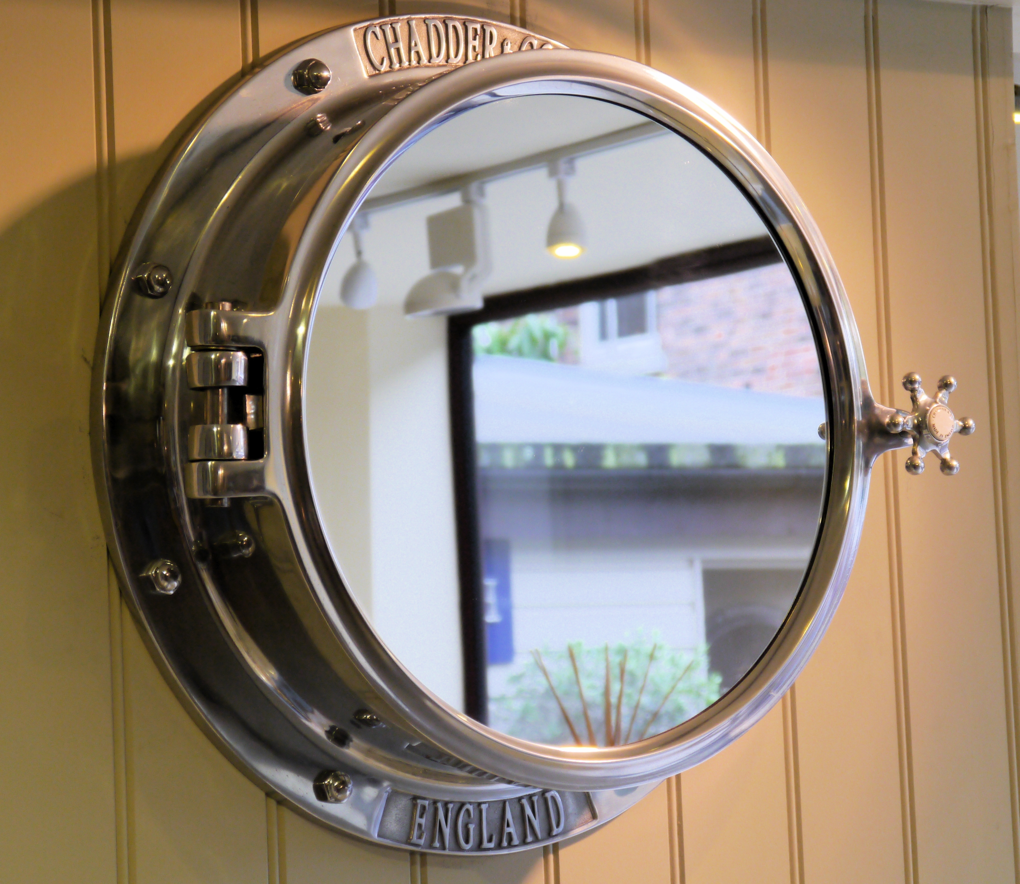 Porthole Bathroom Mirror Cabinet