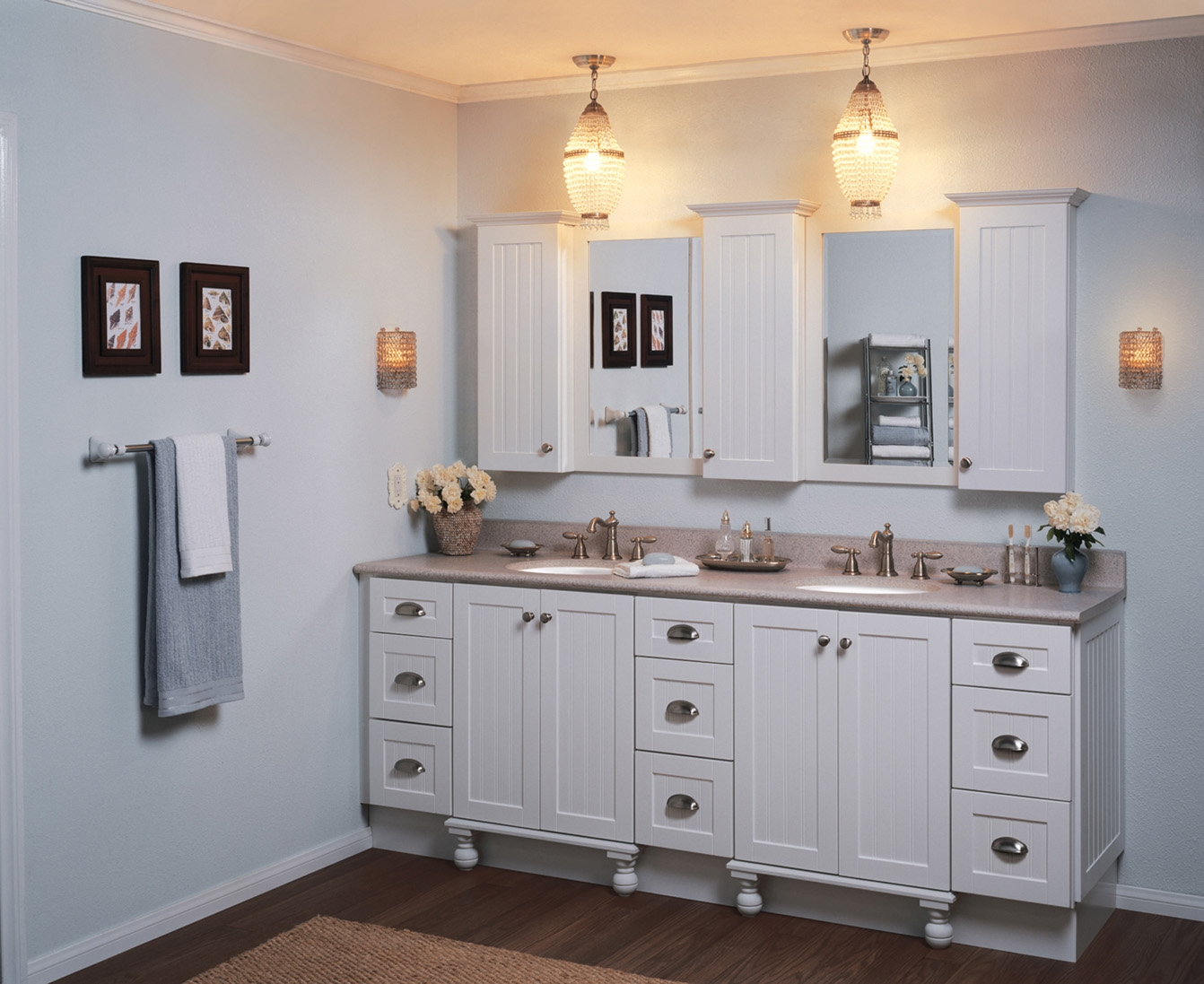 Recessed Bathroom Vanity Mirrors