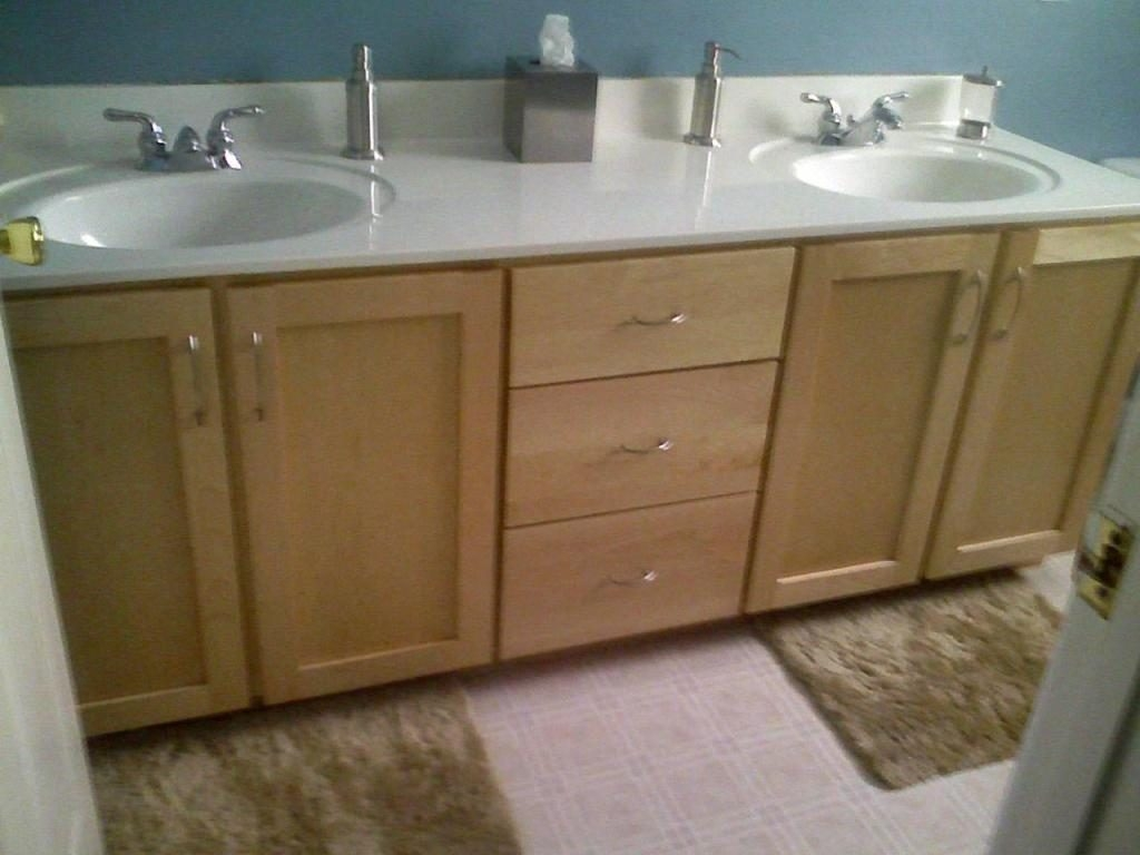 Refacing A Bathroom Cabinet